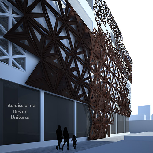 Parametric-facade-design